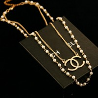 iOffer: 14K High-quality lady girl Necklace Gold mk224 for sale