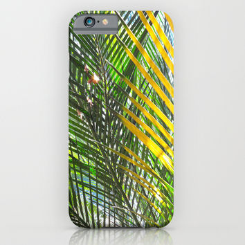 Golden Palm iPhone & iPod Case by Rosie Brown
