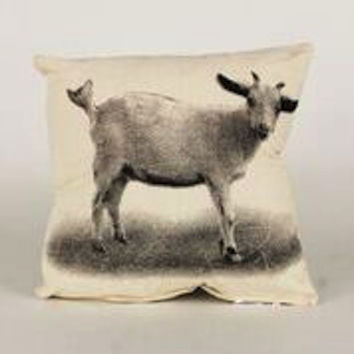 Decorative Pillow, Baby Goat
