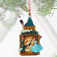 Disney Store Peter Pan & Darling Children 2016 Sketchbook Ornament New w Tags