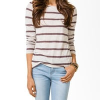 Striped Relaxed Slub Top