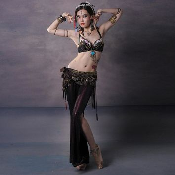 Handmade Complete Belly Dancing Bohemian Outfit