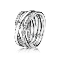 PANDORA Entwined Ring - Size 5