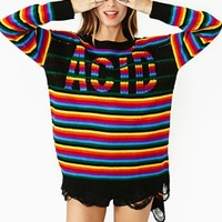 Acid Stripe Knit