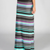 Hurley Nalu Convertible Maxi Dress Black  In Sizes
