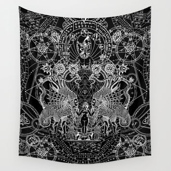 SIN OF IDOLATRY Wall Tapestry by DIVIDUS