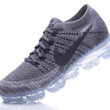 ca DCCK Official Nike Air air force II VaporMax  Flyknit Breathable Men's Running Shoes Sports Sneakers Outdoor Athletic shoes eur 40-44