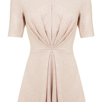 Gold foil twist playsuit - View All - New In
