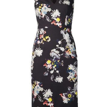 Erdem Sleeveless Floral Print Dress