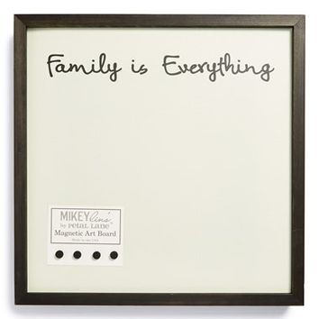 Petal Lane 'Family Is Everything' Medium Magnet Board
