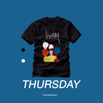 The Weeknd Thursday XO Mixtape T shirt Crew neck Concert tee Drake House of Balloons