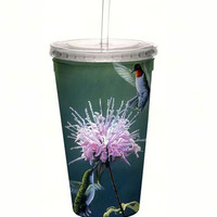 Hummingbird Treat Cool Cup with Straw - 16 oz