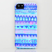 Tribal Stripe - Pastel iPhone Case by Schatzi Brown | Society6