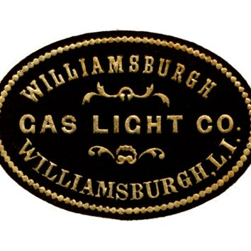 Historical Brooklyn: Williamsburg Gas Light