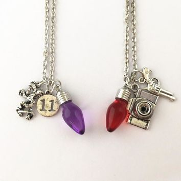 Stranger Things Charm Necklace