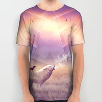 In Search of Solace All Over Print Shirt by Soaring Anchor Designs | Society6
