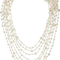 Rosantica | Pegaso gold-dipped freshwater pearl necklace | NET-A-PORTER.COM
