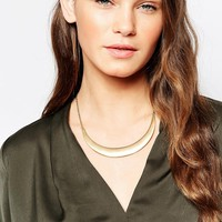 Pieces Tamora Plate Necklace