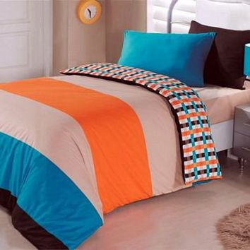 Beach Love Orange by Cotton Box *New* at Bedding Super Store.com