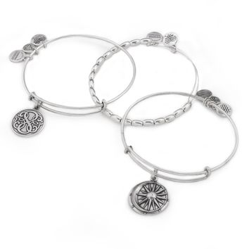 Positive Balance Bangle Stack