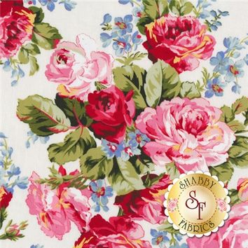 American Bouquet 5204-0111 By Faye Burgos For Marcus Fabrics