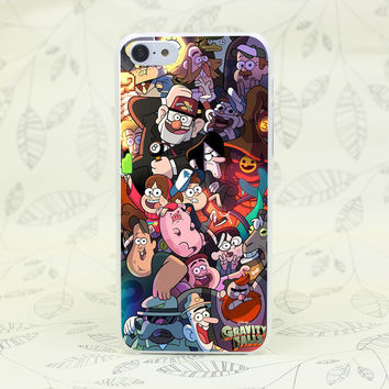 444F Gravity Falls Family Art Hard Transparent Case Cover for iPhone 7 7 Plus 4 4s 5 5s 5c SE 6 6s Plus
