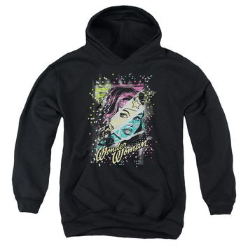 Dc - Color Block Youth Pull Over Hoodie
