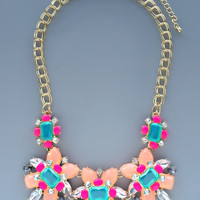 Spanish Summer Statement Necklace