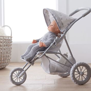 Mini Doll Jogging Stroller