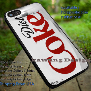 Cola Diet Coke iPhone 6s 6 6s+ 6plus Cases Samsung Galaxy s5 s6 Edge+ NOTE 5 4 3 #art ii