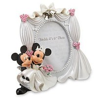 Mickey and Minnie Mouse Wedding Frame | Disney Store