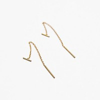 Chan Luu Womens Pull Through Bar Earrings