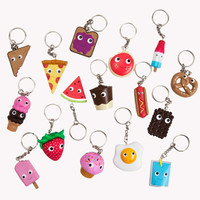Yummy World 2 inch 3D Vinyl Keychain Assorted Series - Each | Kidrobot