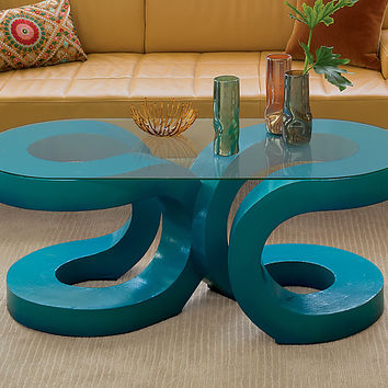 2U Coffee Table by John Wilbar (Wood Coffee Table) | Artful Home