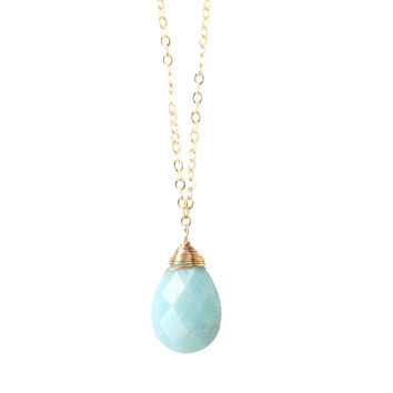 Ella Amazonite Stone Necklace