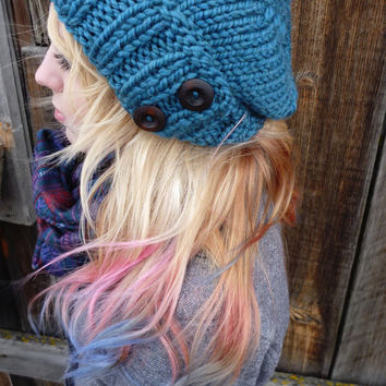 Ready to ship The Antoinette Slouch In Teal by Nolie9238 on Etsy