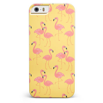 Tropical Flamingo v1 iPhone 5/5s or SE INK-Fuzed Case