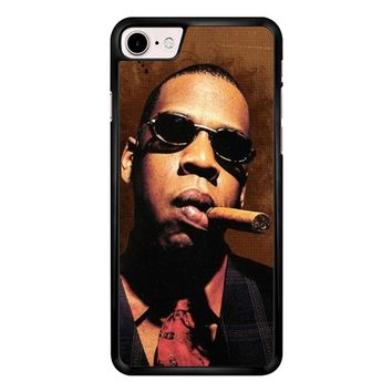 Jay-Z Cigar Glasses Tie Vest 01  iPhone 7 Case