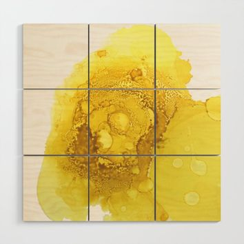Manipura (solar plexus chakra) Wood Wall Art by duckyb
