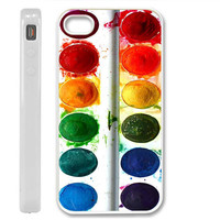water color set  iPhone case 4 / 4S / 5 Case Cover