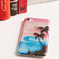 Airbrush Beach iPhone 7 Case | Urban Outfitters