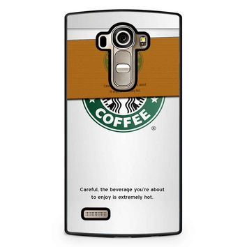 Starbucks Coffee Cup LG G4 Case