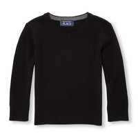 Toddler Boys Long Sleeve Solid Sweater | The Children's Place