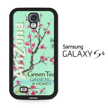 Arizona Green Tea SoftDrink Samsung Galaxy S4 Case