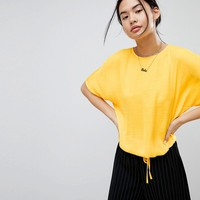 Noisy May Drawstring Tie Top at asos.com