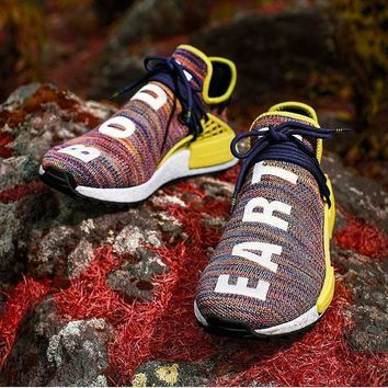 Adidas Nmd Human Race Multicolor Sports Shoes Sneakers