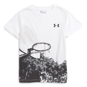 Under Armour Basketball Graphic HeatGear® T-Shirt (Toddler Boys & Little Boys) | Nordstrom