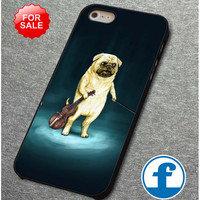 Cute Turquoise Pug  for iphone, ipod, samsung galaxy, HTC and Nexus PHONE CASE