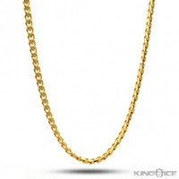 5mm 14K Gold Miami Cuban Curb Chain | Hip Hop Jewelry | Urban Style Chain