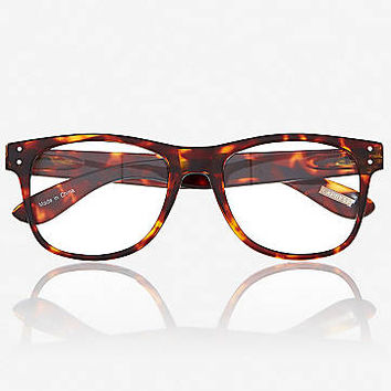 Tortoise Shell Clear Lens Glasses from EXPRESS